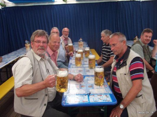 Oktoberfest bei Karstadt in Hamburg Sept. 2014 - Werner