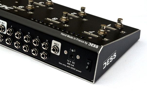 DESS, custom shop, custom switch, switcher, analogique, buffer, tuner, SBK Custom