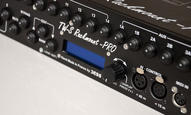 TW-S 14 Pro, Switcher d'effet, Midi, Switching, System, effects, pedals, amplifier, dess, tuner, Spliter, sélécteur, multi-pilotage