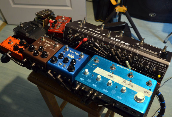 Switcher Pedalboard 8 Loops, DESS, Effect, switching system, Amp, Splitter, Audio system, Guitar, True Bypass
