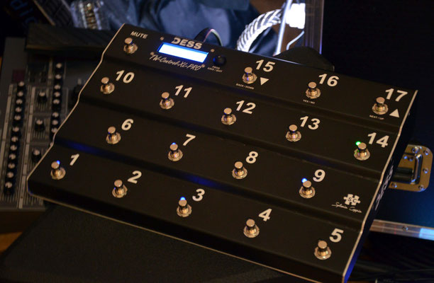 TW-Control XL Backline PRO 2019, Matthieu Chedid
