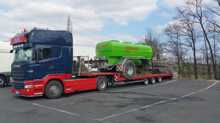 Berühmt Landmaschinen zubehör transport - Heinz Spezialtransporte @RL_99