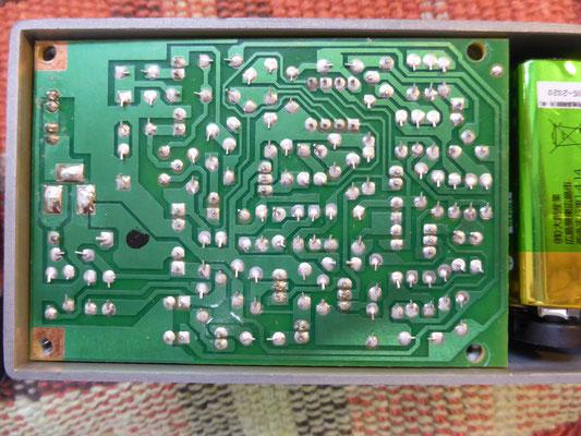 不良化していました電解コンデンサーを交換しています。