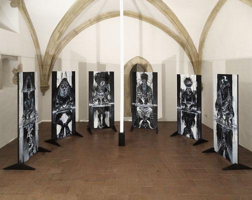 Séance, 2019, Installation in der Sigismundkapelle in Regensburg.