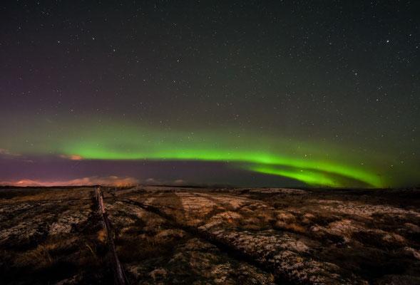 Iceland - aurora borealis