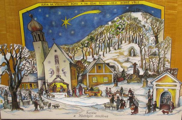 Tschechische Dorfkrippe