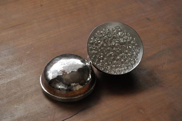 紫陽花 サイズ:7x7cm  素材:silver925