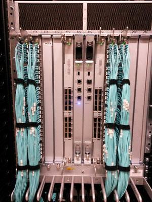 Déports fiber-trunk