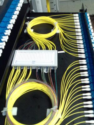 Panneau fibre optique