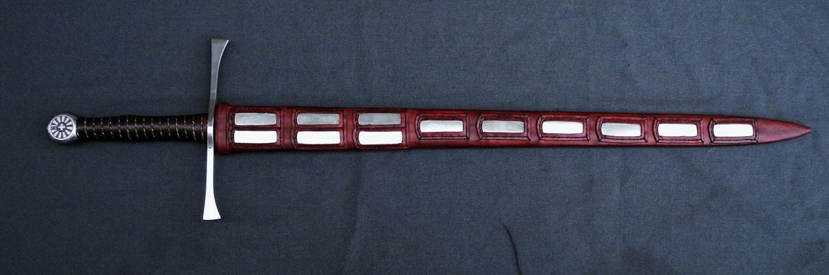Schwertscheide mit Holzkern - Schwert (Reto Zürcher)