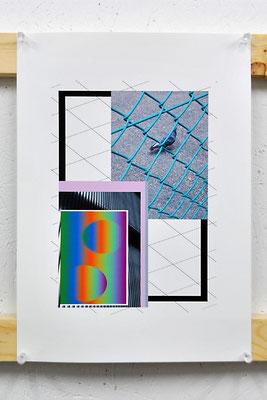 《無題》/2015/210×297/デジタルフォトコラージュ、インクジェットプリント