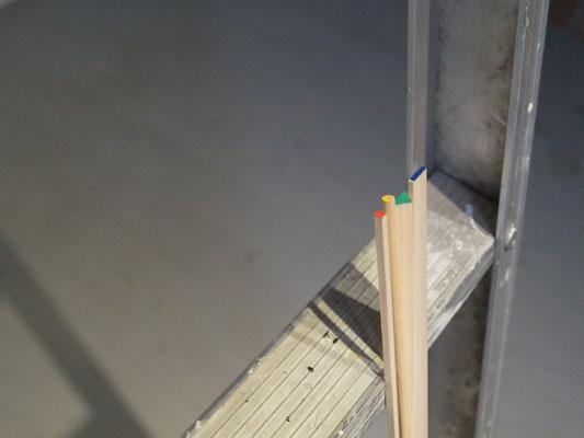 《徴は至る所に》/2012/木材