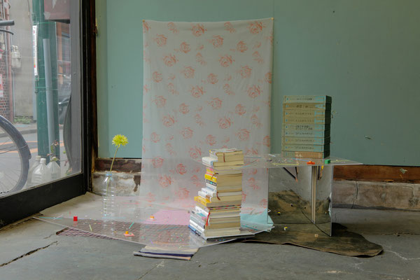 《SYNTAX (for garden of books)》/2013/ミクストメディア