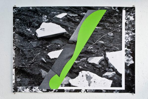 《無題》/2015/594×841 /デジタルフォトコラージュ、インクジェットプリント