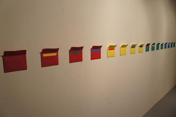 《秩序の余剰(手紙)》/2012/便箋、手紙