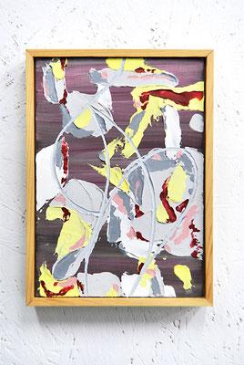 《い・し E'》/2015/210×147/パネルにアクリル