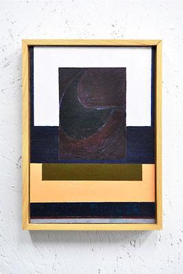 《い・し E》/2015/210×147/パネルにアクリル