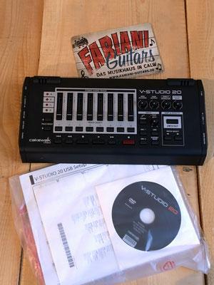 Roland V-Studio - USB Audio-Interface mit Multieffekt und Recording Software, Musik Fabiani Guitars Stuttgart, Pforzheim, Calw, Nagold
