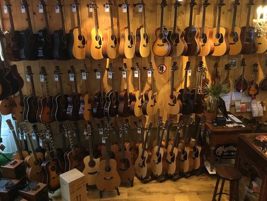 Willkommen bei Fabiani Guitars, Hermann Hesse Stadt 75365 Calw,  Musikhaus 200 Quadratmeter, Stairway to Heaven