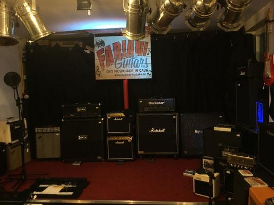 Marshall Verstärker, Guitar Amps