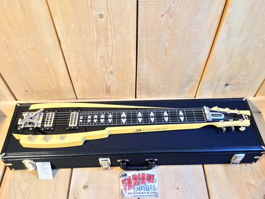 Lapsteel Guitar, Pomona 6, Brand Duesenberg, Made in Germany, Musicstore Fabiani Guitars, Pforzheim, Weil der Stadt, Gerlingen, Leonberg und Stuttgart