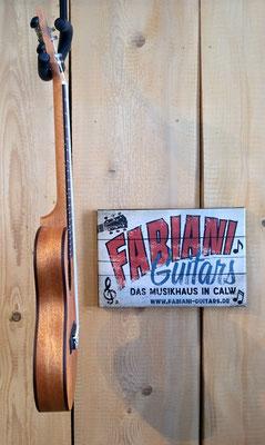Kokio Concert bzw. Konzert- Ukulele schmal, Konzertukulele, Ukulele, Musik Fabiani Guitars Calw, Nagold, Tübingen, Rothenburg a. d. Tauber