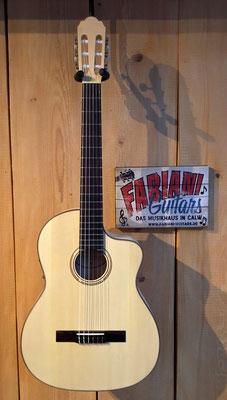 Pro Natura Silver Samba, Konzertgitarre mt Cutaway, Ahorn - Fichte Natur, Musik Fabiani Guitars 75365 Calw, Weil der Stadt, Rennwagen, Herrenberg, Stuttgart, Tübingen, Nagold