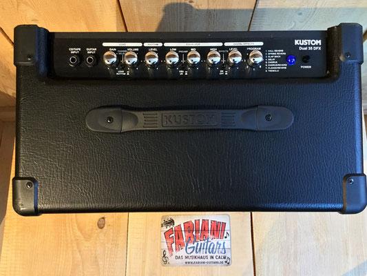 Kustom Dual 35 DFX gebraucht, Second Hand, E-Gitarrenverstärker, Musik Fabiani Guitars Calw, Stuttgart, Pforzheim, Calmbach, Bad Wildbad