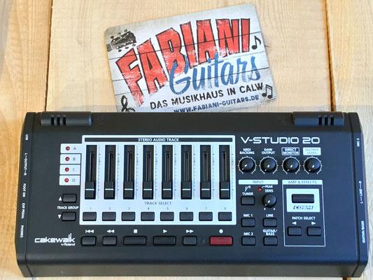Roland V-Studio - USB Audio Interface, Recording Software, Musik Fabiani Guitars Stuttgart, Pforzheim, Calw, Nagold