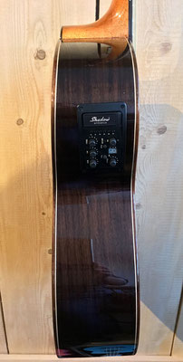 Duke GA-PF-Cut, E- Westerngitarre, Seitenansicht Tonabnehmer, Duke Westerngitarre, Fabiani Guitars Calw, Stuttgart, Herrenberg, Nagold