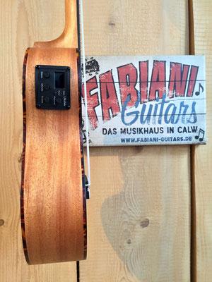 Tonabnehmer und Stimmgerät, Cascha Tenor Ukulele ME Premium Set, Music Fabiani Guitars Calw, Stuttgart, Pforzheim, Karlsruhe, Calw
