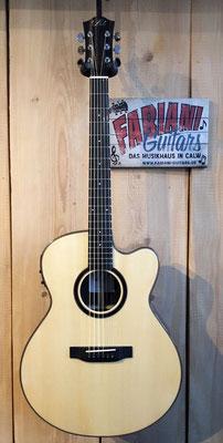 Duke GA-PF-Cut, Elektrische Westerngitarre + Cutaway + Tonabnehmer, Fabiani Guitars Calw,