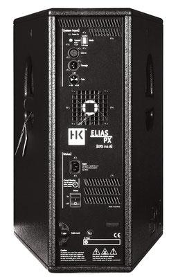 Lautsprecher Verleih, HK Boxen, PX, aktive Lautsprecherboxen, Sound-Verleih