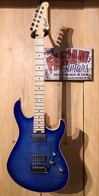 Cort G 290 Fat, Bright Blue, E-Gitarre, Musik Fabiani Guitars Calw, Nagold, Herrenberg, Sindelfingen, Magstadt