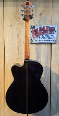 Duke GA-PF-Cut, Elektrische Westerngitarre, Rückseite Duke Gitarre