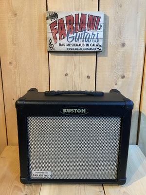 Kustom Dual 35 DFX gebraucht, Second Hand, E-Gitarrenverstärker, Musik Fabiani Guitars Nagold, Tübingen, Herrenberg, Calw