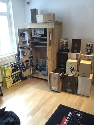 Cajon, Rhytmus-Box, Schlagbox, Drumkiste, Schlagzeugkiste, Cajons - made in Germany Schlagwerk Cajon, Leiva, Pepote, Stairway to Heaven, 75365 Calw Fabiani Guitars