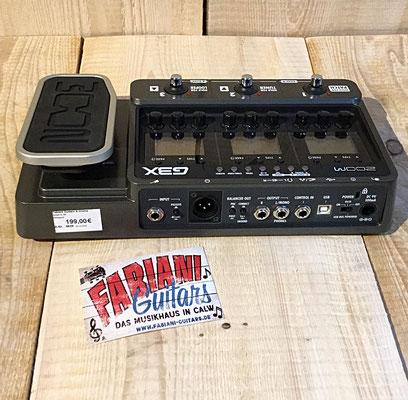 Gitarren-Multieffektgerät, Zoom G3X - E- Gitarre