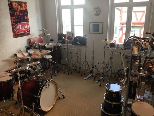 Drumsets und Zubehör für Schlagzeuger,  Drummer, Stairway to Heaven, Musik Fabiani Guitars, 75365 Calw, Nagold, Herrenberg, Leonberg, Stuttgart, Tübingen, Rottweil
