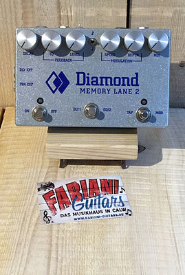 Diamond - Memory Lane 2 - Analog- Delay, Musikhaus Fabiani Guitars Calw