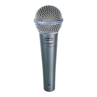 Shure Beta 58 - Profi- Gesngsmkrofon
