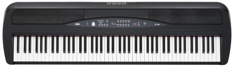 Korg SP 280/black Digitalpiano, E- Piano, Akustik Piano, Musikhaus Fabiani Guitars Calw