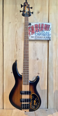 Cort C 4 Plus, E-Bass, inklusiv Mark Bass-Pre Amp, Natural Zebrawood-Design, Musikhaus Fabiani Guitars, Pforzheim, Bad Wildbad, Calmbach
