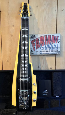 Duesenberg Pomona 6 Lapsteel Slider Guitar, Slider- Hawaii-Gitarren Musik Fabiani Guitars Calw, Nagold, Herrenberg, Stuttgart, Aalen