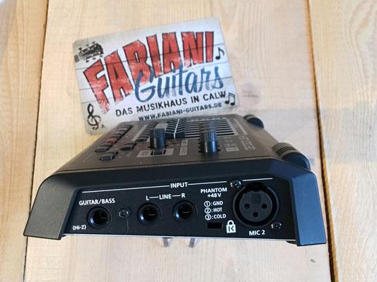 Roland V-Studio - USB Audio-Interface mit Multieffekt und Recording Software, Musik Fabiani Guitars Calw, Pforzheim, Weil der Stadt, Herrenberg, Nagold