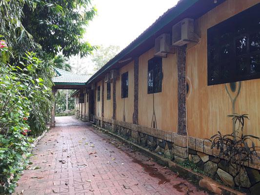 Das Haus, in dem wir untergebracht sind