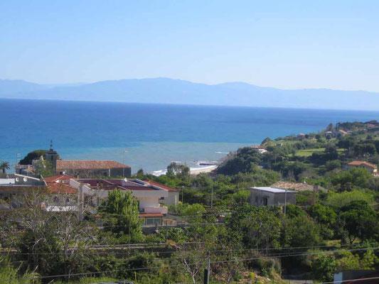 Blick auf Meer von Pasquales Haus