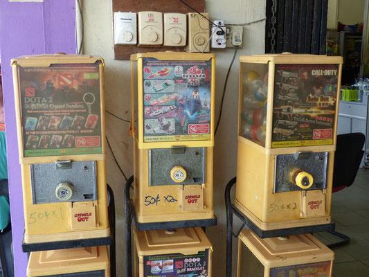 Kaugummiautomaten wie bei uns früher