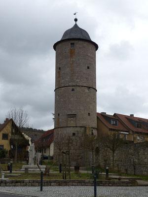 Kere Turm - eines der Eibelstädter Wahrzeichen