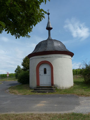 Kleine Kapelle kurz vor Fahr